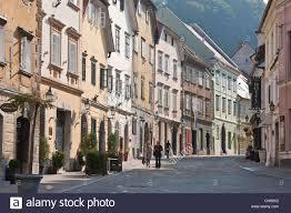 slovenia ljubljana capital town of slovenia gornji street in