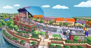 Map Of Universal Studios Orlando by Real Life Springfield Around The Simpsons Ride In Universal