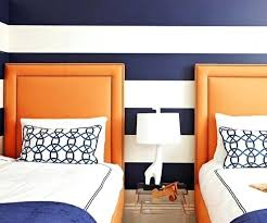 striped walls blue striped bedroom kids room wall ideas with navy blue striped
