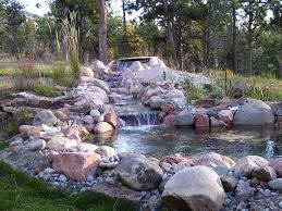 landscape water fountains and ponds fountain design ideas