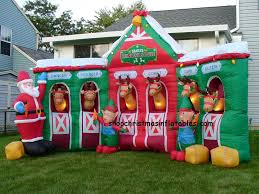 christmas inflatables outdoor shop christmas inflatables gemmy inflatables yard inflatables