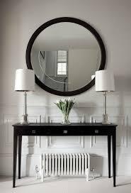 sofa decorative black sofa table decor hall tables console black