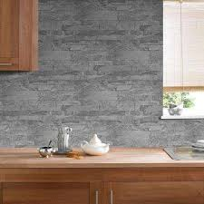Interior Stone Walls Home Depot by Stone Brick And Wood Wallpaper Wallpaper U0026 Borders The Home