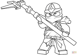 lego ninjago cole zx coloring page free printable coloring pages