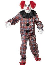 Outlet Halloween Costume Scary Clown Halloween Costume 34114 64 95 Fancy Dress