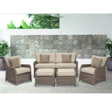 Patio Furniture Couch by Wicker Outdoor Sofas Chairs U0026 Sectionals Shop The Best Deals