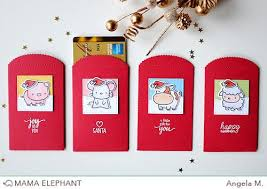 lucky envelopes lucky envelope creative cuts elephant