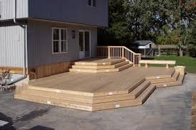Decks With Benches Built In Mid Diy Deck Plans