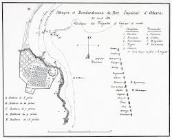 Mole Map Bombardment Of Odessa 1854 Dawlish Chronicles