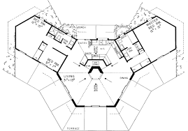 octagon home plans contemporary style house plans 1400 square foot home 1 story