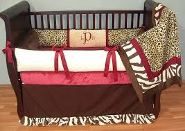 Animal Print Crib Bedding Sets Fascinating Animal Print Crib Bedding Set Forest Sets Cheetah