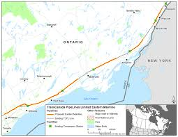 Trans Canada Highway Map by Canadian Environmental Assessment Registry Environmental