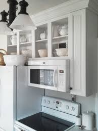 Open Shelves Kitchen Design Ideas by Best 20 Microwave Above Stove Ideas On Pinterest Built In