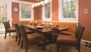 impressive banquette dining room 119 banquette dining table for