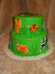 jungle animals baby shower cake cakecentral com