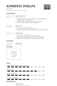 Phlebotomy Resume Sample by Machine Operator Resume Samples Visualcv Resume Samples Database