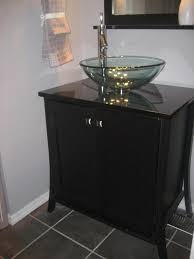 Vessel Sink Vanity Bathroom Vessel Sinks Single Black Vanity Sink Cabinet White Sink
