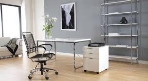 Glass And Chrome Desk Rectangle Polish Wooden Computer Desk Metal Chrome Holder Table