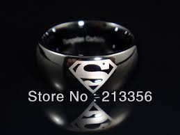 superman wedding rings aliexpress buy free shipping wholesales price usa hot