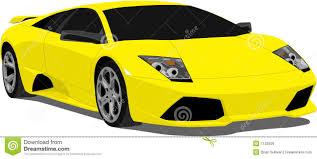 Lamborghini Murcielago Yellow - vector lamborghini murcielago royalty free stock image image