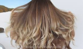 ombre hair growing out how i maintain ombre balayage hair at home modern bohemian