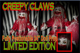 creepy chirstmas creepy collection haunted house u0026 halloween props