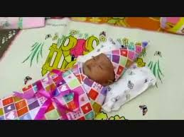 tutorial membungkus kado simple cara membungkus kado bayi youtube
