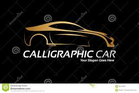 golden cars golden car logo royalty free stock images image 36154059