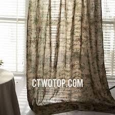 Brown Burlap Curtains Affordable Living Room Brown Floral Burlap Curtains
