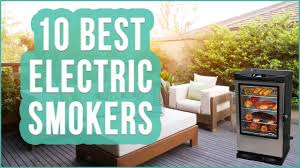 table top electric smoker best electric smoker 2016 top 10 electric smokers toplist youtube