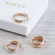 russian wedding rings solid three colour gold russian wedding ring by auree jewellery