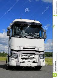 White Renault Trucks T With High Sleeper Cab Editorial Image