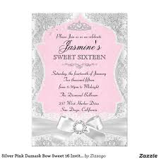 77 best sweet 16 birthday invitations images on pinterest sweet