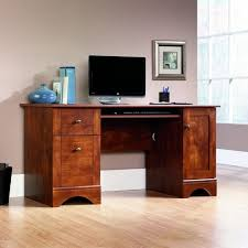 Glass And Wood Computer Desk Tables Winsome Wood Computer Desk With Pullout Keyboard Tray Clean