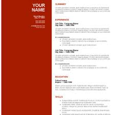 Free Downloadable Resume Templates For Word Resume Templates Free For Microsoft Word Thebridgesummit Co