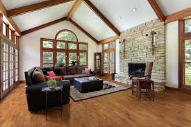 Durable Family Rooms Think Hardwood Floors - Family room flooring