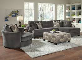 City Furniture Living Room Set The Mood The Smooth Graphite Shade And Velvety Soft Texture