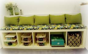 Expedit Bench 20 Diy Storage Bench For Adding Extra Storage And Seating U2013 Home