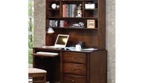 Sauder Orchard Hills Computer Desk With Hutch Carolina Oak by Scottsdale Walnut Computer Desk Youtube
