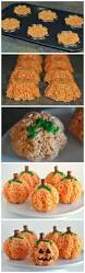 rice krispie treats for thanksgiving best 25 pumpkin rice krispie treats ideas on pinterest rice