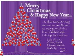 message to friends and family merry happy