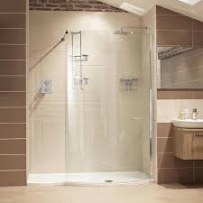 fabulous curved glass walk in shower enclosures v6 curved walk in