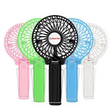 hand held battery fan foldable hand fans battery operated rechargeable handheld mini fan