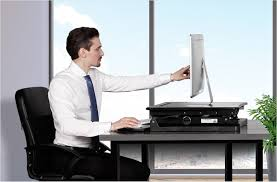Sit And Stand Computer Desk by Flexispot M Series Sit Stand Desktop Workstation Gadget Flow