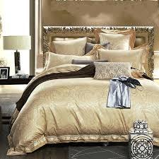 Gold Bed Set Gold Bedding White Black Gold Comforter Sets Duvet Covers J