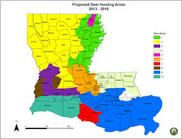 Louisiana Area Code Map by Wildlife U0026 Fisheries Proposes Big Changes To Louisiana Deer