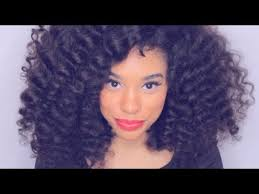 puffy woman curly hair how to diana ross inspired curly hair tutorial no heat youtube