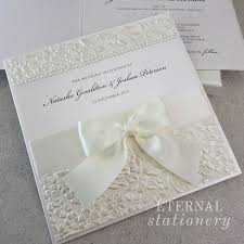 embossed wedding invitations 7 best boxed wedding invitations images on embossed