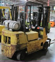 1987 hyster 50 forklift item 5087 sold september 28 tap