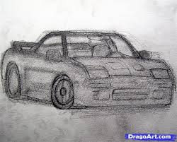 how to draw a realistic car draw real car step by step cars